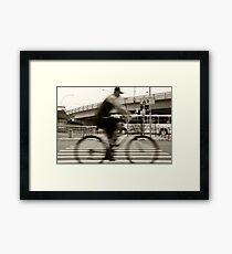 An Henri Cartier-Bresson Moment... Framed Print