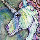 Unicorn Fantasy by makingartnotwar