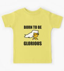 Steam PC Master Race Born to Be Glorious Girl Kids Tee