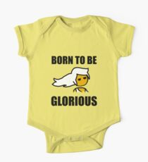 Steam PC Master Race Born to Be Glorious Girl One Piece - Short Sleeve