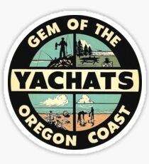 Yachats Oregon Vintage Travel Decal Sticker