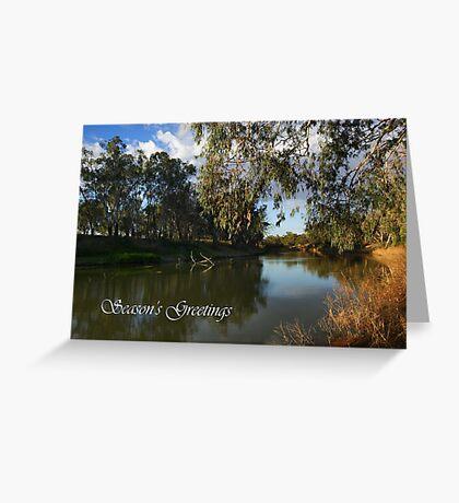 Darling River Greeting Card