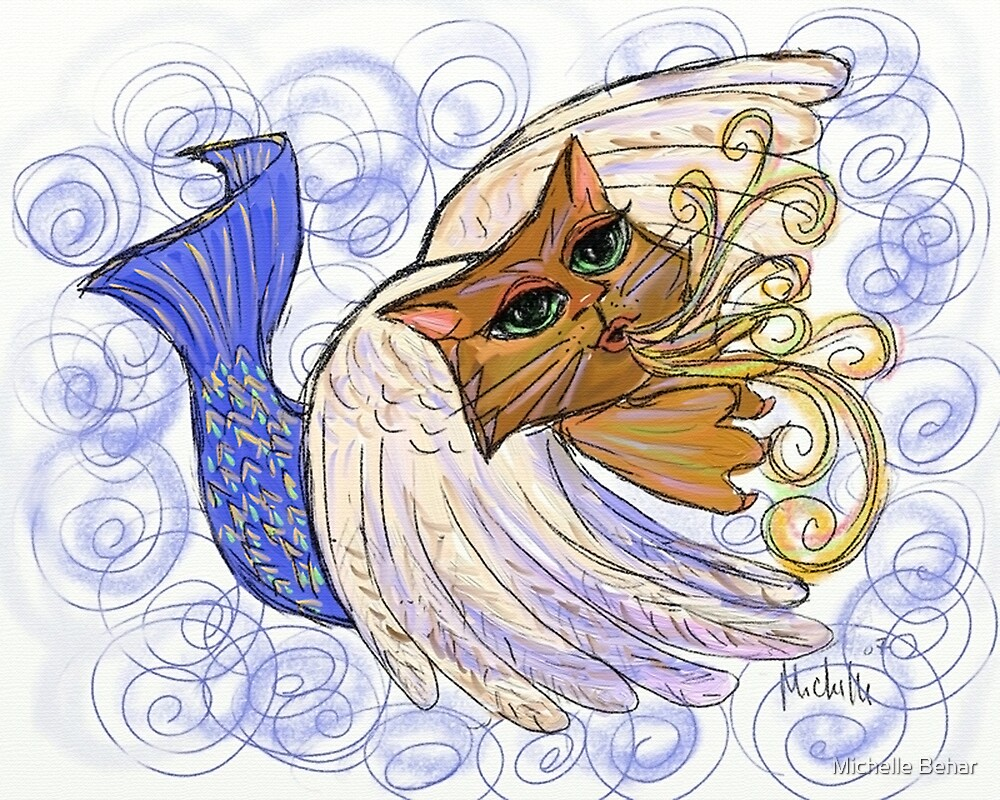 Cat-fish Fly by Michelle Behar