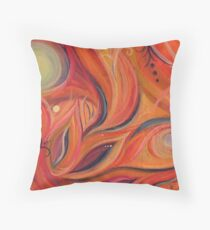 Step into my Vibrant World Throw Pillow