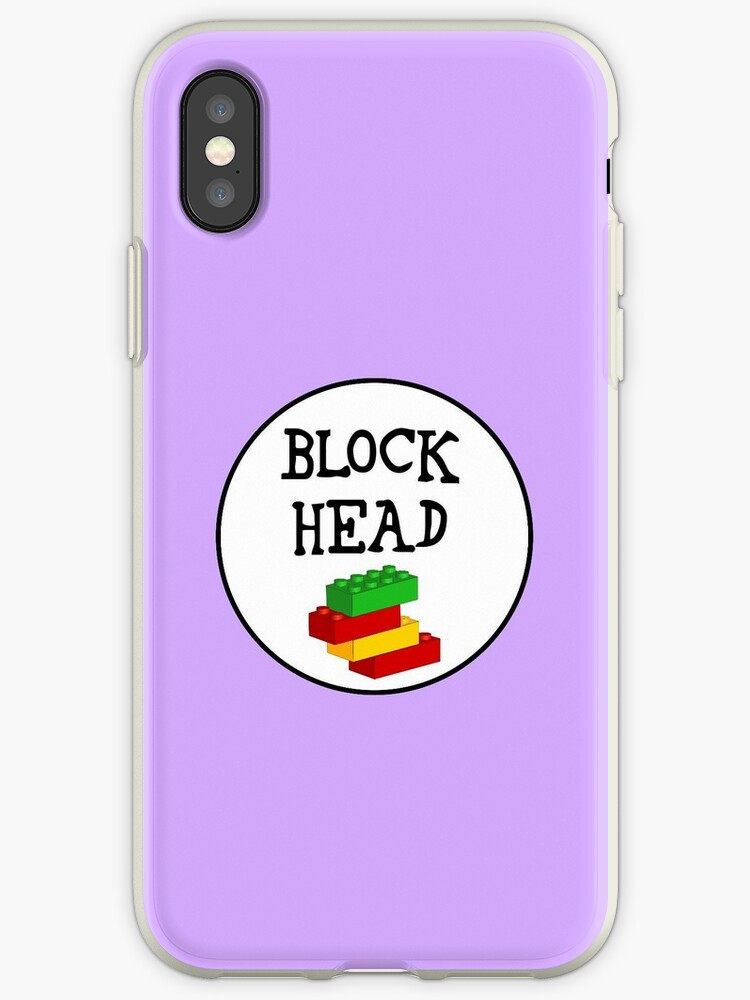BLOCK HEAD by ChilleeW