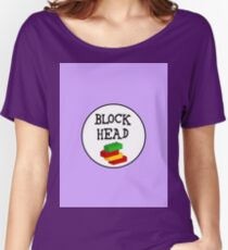 BLOCK HEAD Women's Relaxed Fit T-Shirt