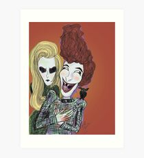 The Laughing Vampire Art Print