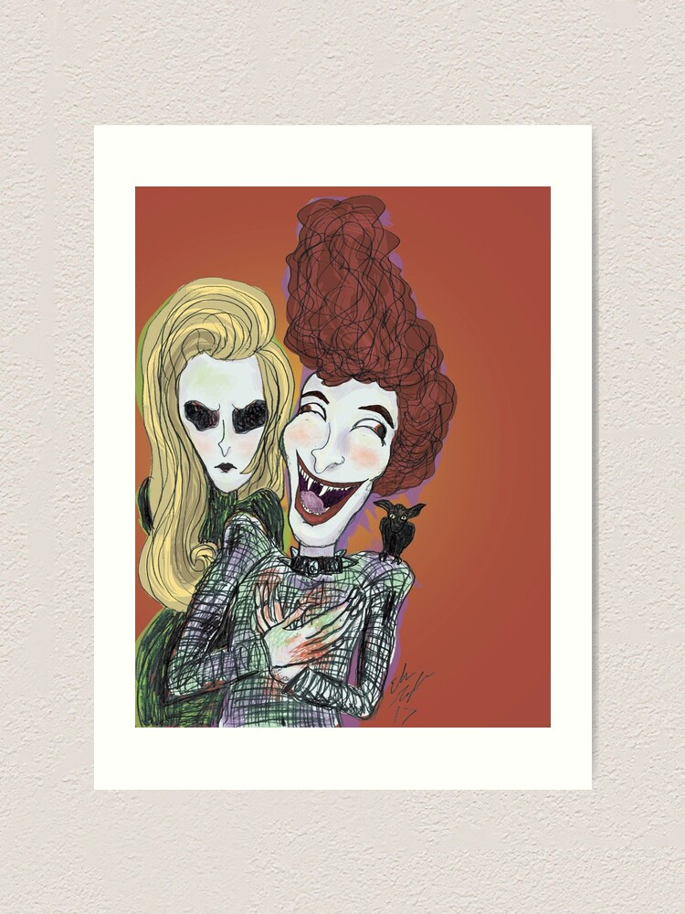 Alternate view of The Laughing Vampire Art Print