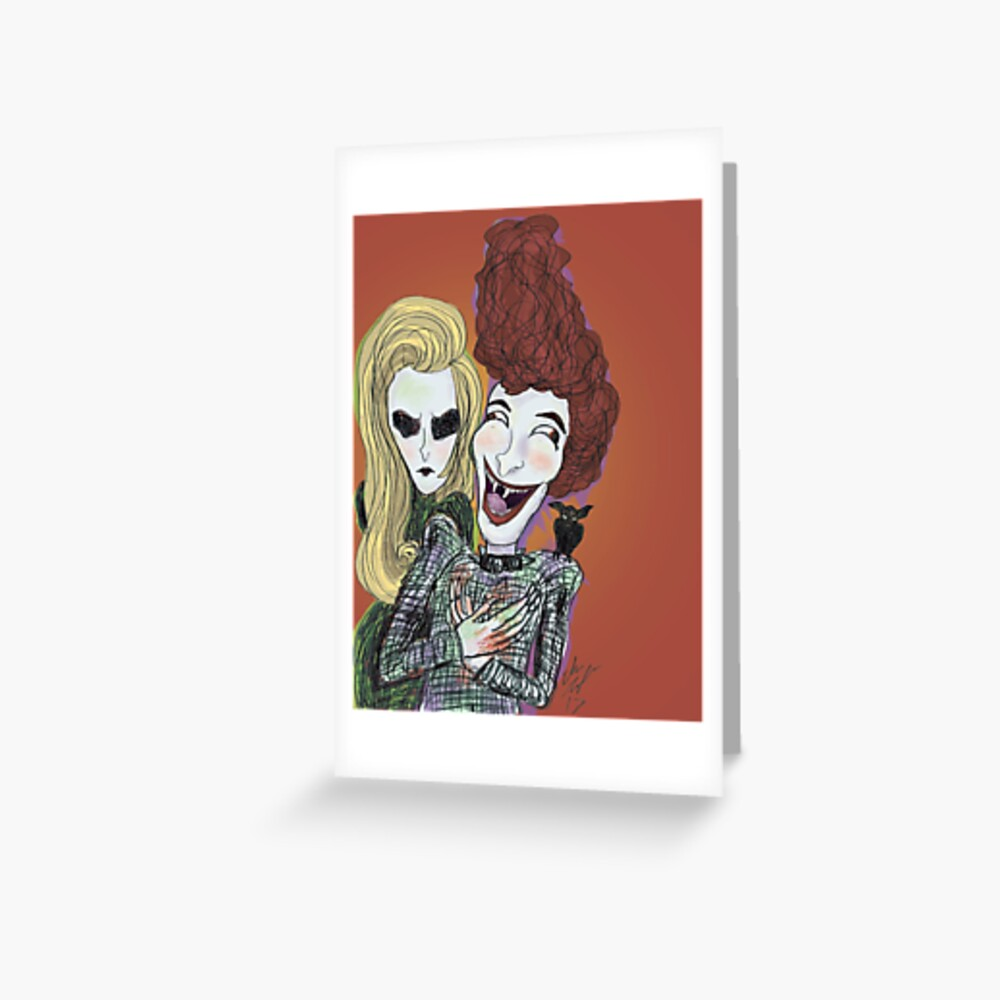 The Laughing Vampire Greeting Card