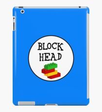BLOCK HEAD iPad Case/Skin