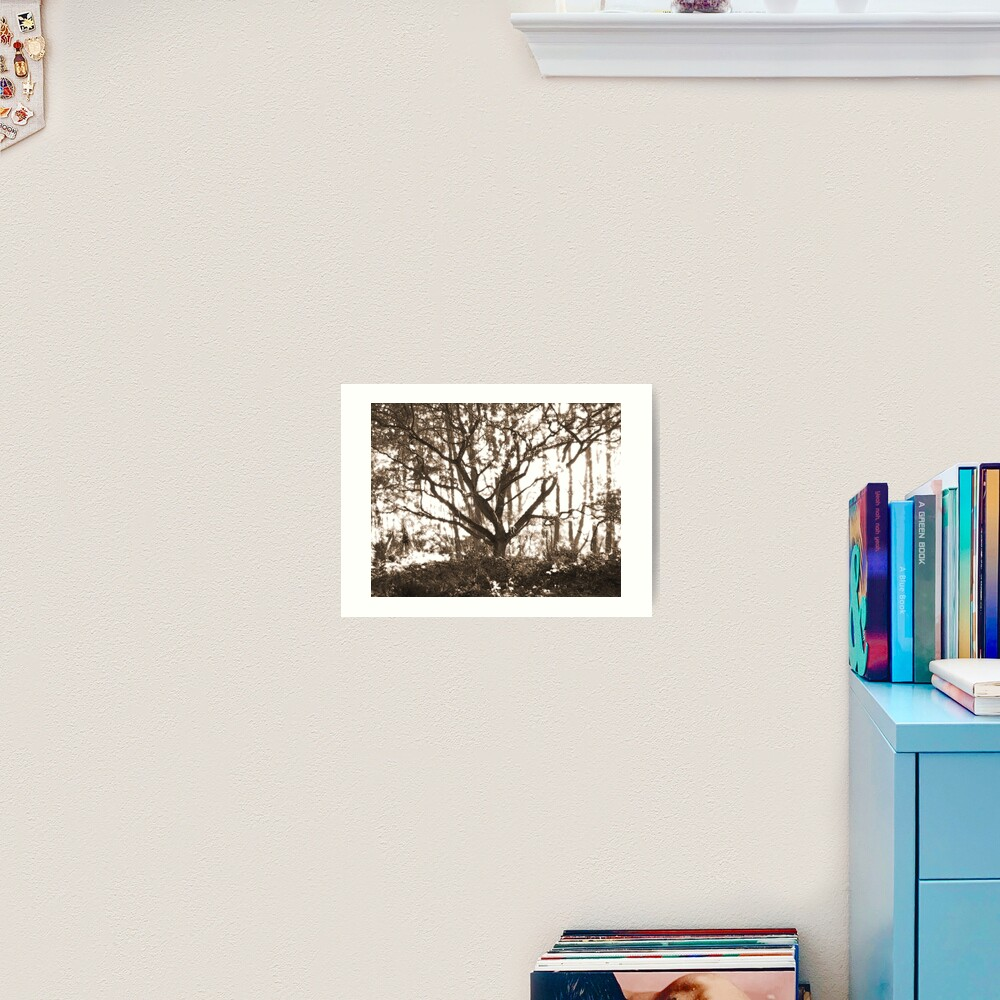 Ghost Tree Art Print