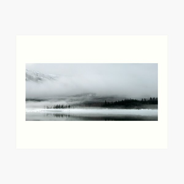 Lake Kecheelus Snow #2 Art Print