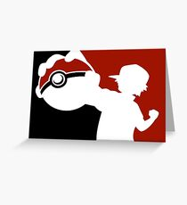 POKEMON INSPIRED DESIGN ASH KETCHUM Greeting Card