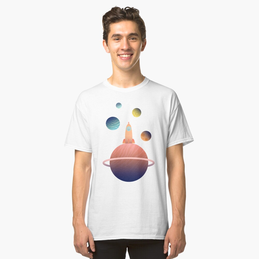 Into Space Classic T-Shirt