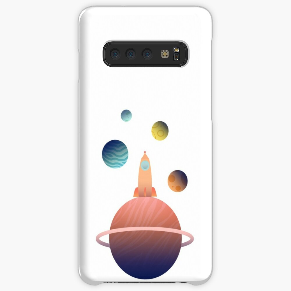Into Space Case & Skin for Samsung Galaxy