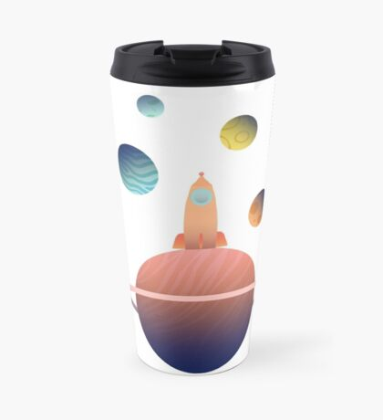 Into Space Travel Mug