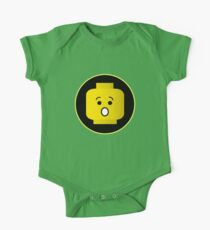 MINIFIG SHOCKED FACE One Piece - Short Sleeve
