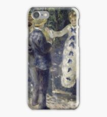 Auguste Renoir - The Swing iPhone Case/Skin
