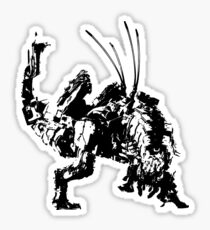 Weathered Thunderjaw Horizon Zero Dawn Sticker