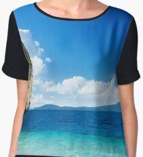 Rock Island - Tropical Horizon Series Chiffon Top