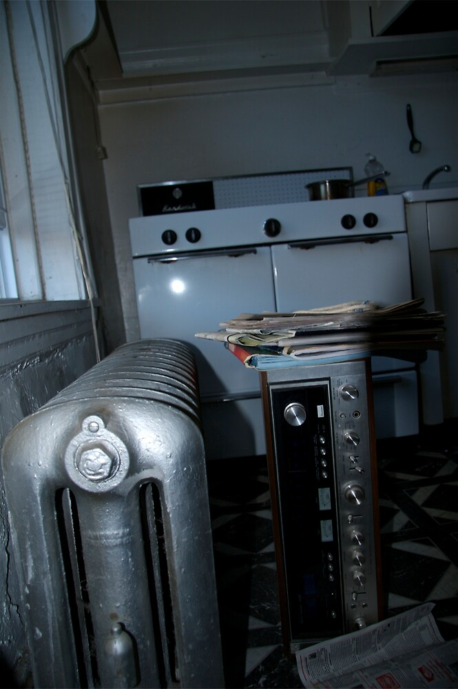 APARTMENT ONE  (KITCHEN WITH SANSUI 9090db) by martin venit
