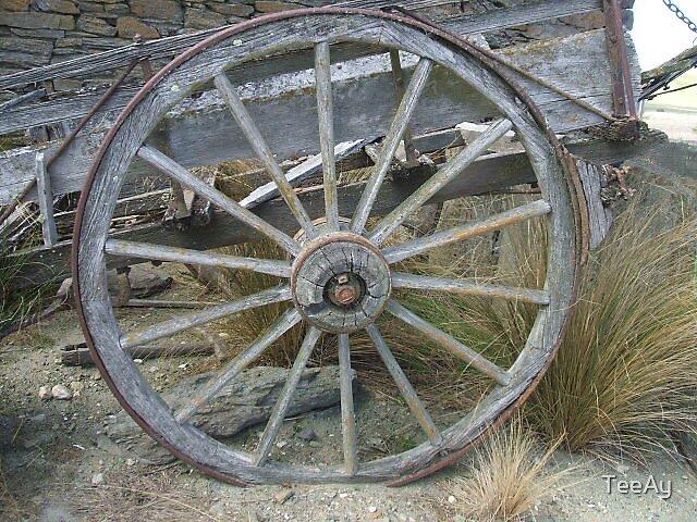 Wagon wheel  by TeeAy