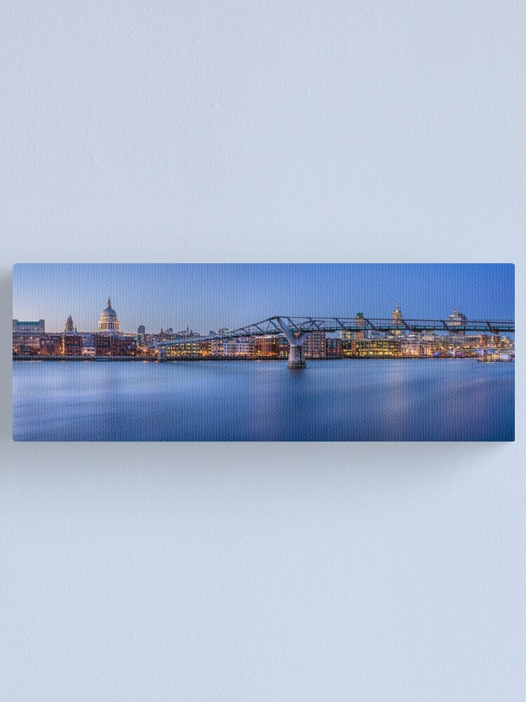 Alternate view of River View of St Paul's Cathedral Canvas Print