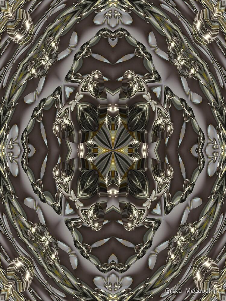 Dandilion Abstract by Greta  McLaughlin