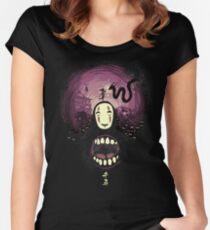 Spirit nightmare (chihiro) Women's Fitted Scoop T-Shirt