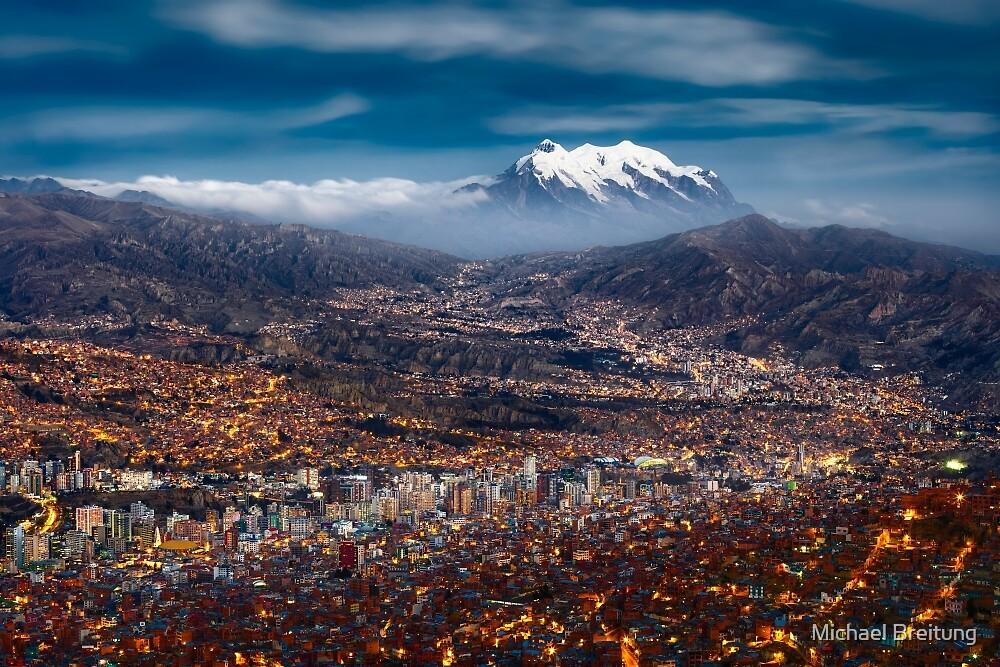 La Paz Night von Michael Breitung