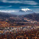 La Paz Night by Michael Breitung
