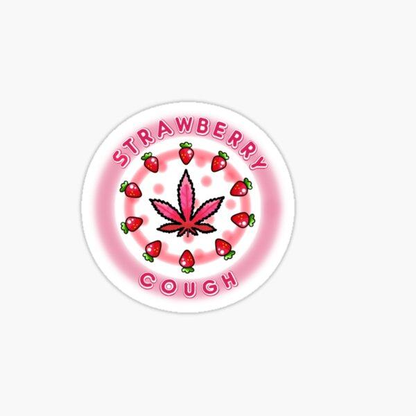 STRAWBERRY COUGH Sticker