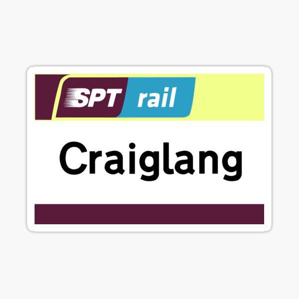 Craiglang Station Sign Sticker