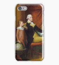 Edward Savage - The Washington Family 1789  iPhone Case/Skin