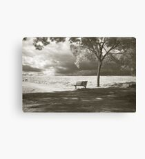 Waiting for Infinity  Canvas Print