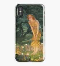 Edward Robert Hughes - Midsummer Eve iPhone Case/Skin