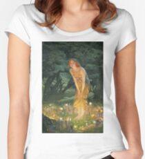 Edward Robert Hughes - Midsummer Eve Women's Fitted Scoop T-Shirt