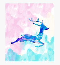 Abstract Deer Photographic Print