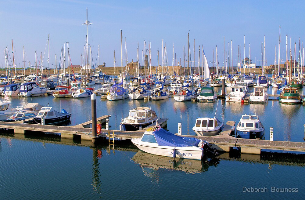 Whitehaven Marina by Deborah  Bowness