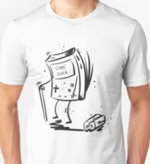 Game Over game boy Unisex T-Shirt