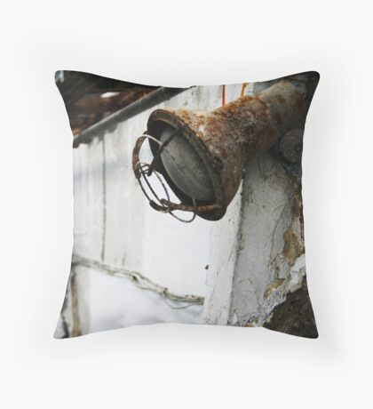 Rust Out Throw Pillow