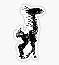Weathered Long Neck Horizon Zero Dawn Sticker