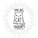 Smiling Cat Therapy by jitterfly