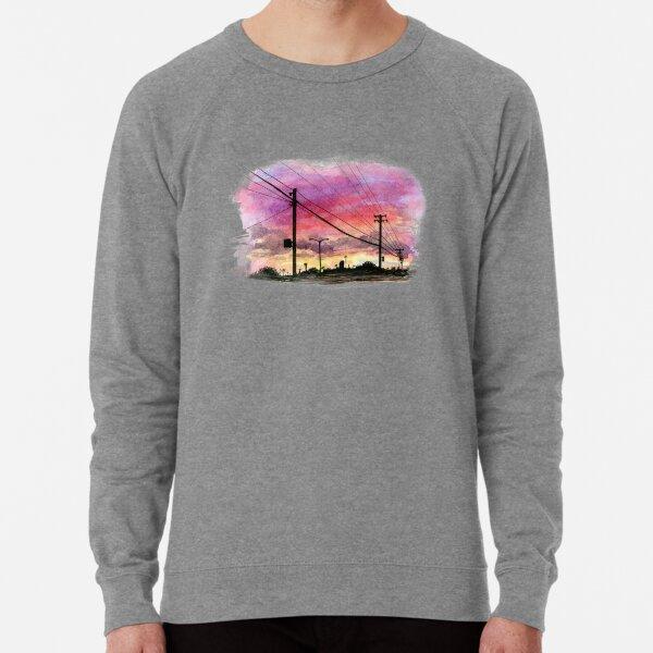 Urban Sunset Lightweight Sweatshirt