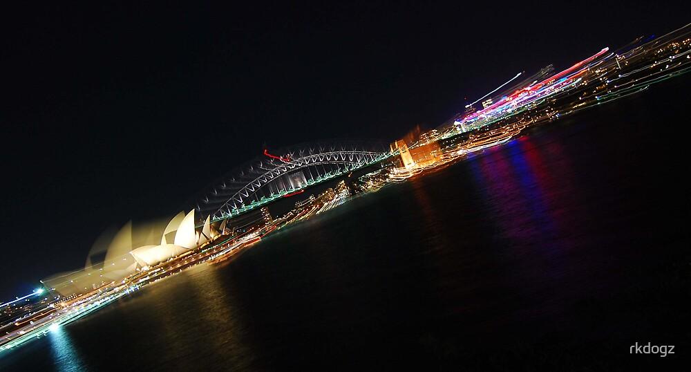 Moving Sydney harbour by rkdogz