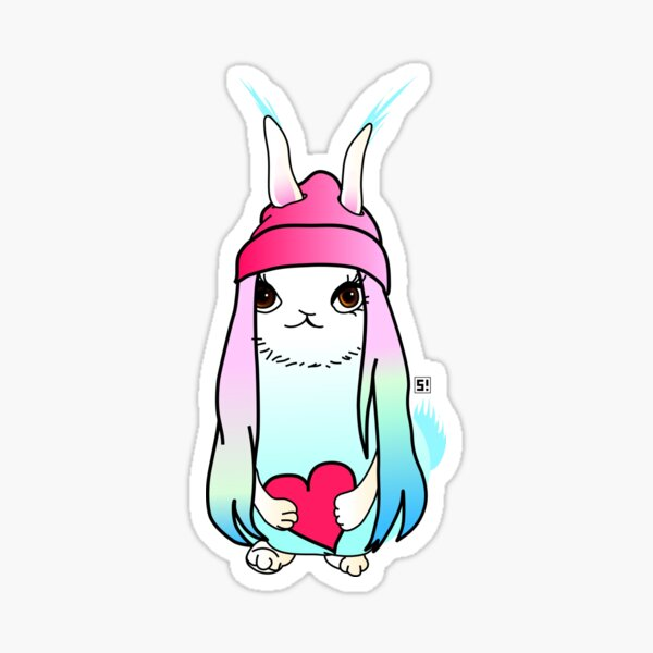 Love Bunny - The most precious gift of all Sticker