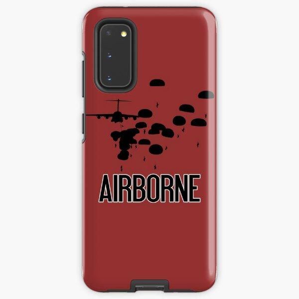 Airborne Jump (Airborne Red) Samsung Galaxy Tough Case