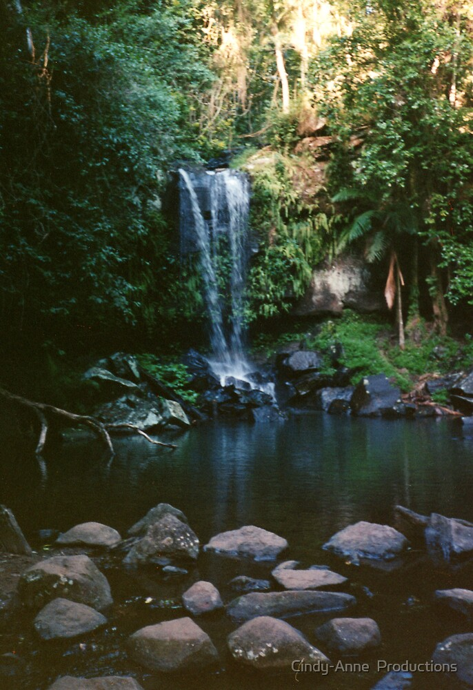 Queensland Rainforest Waterfall by Cindy-Anne  Productions