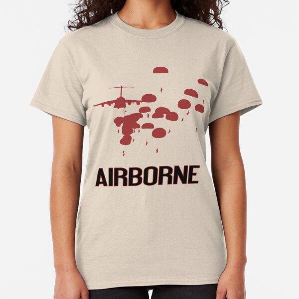 Airborne Jump (Airborne Red) Classic T-Shirt