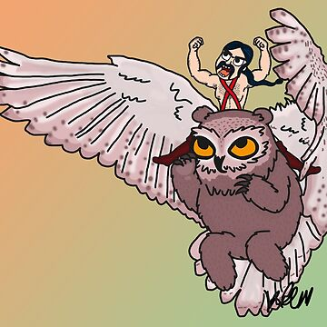 Owlbear by kaylieghkartoon